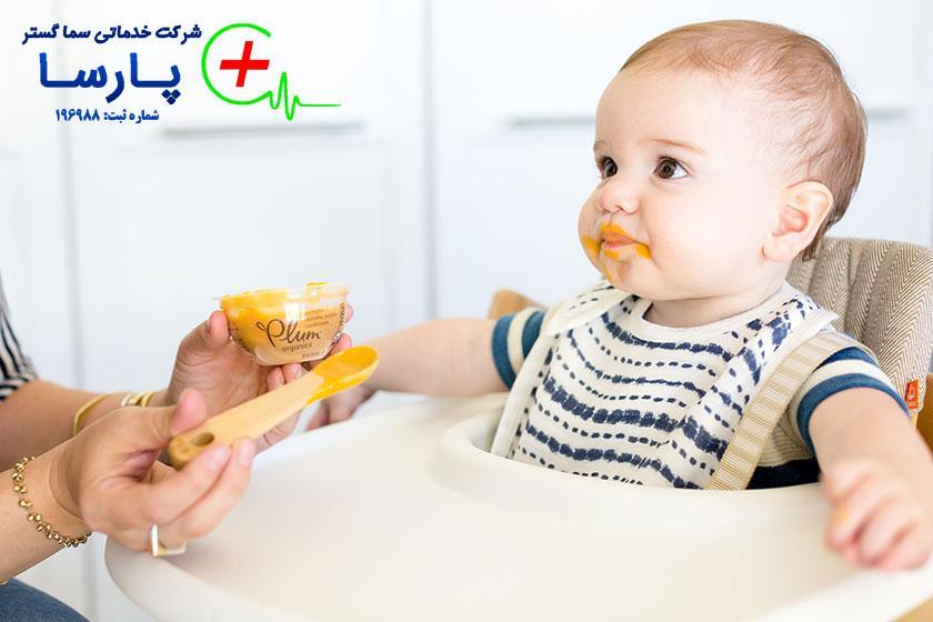 راهنمای تغذیه و غذای نوزاد