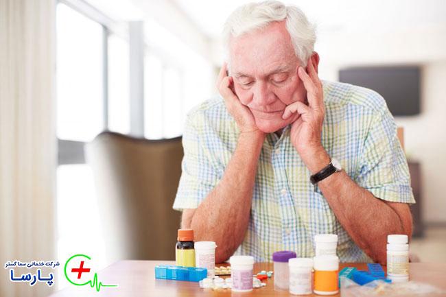 مسمومیت و مصرف دارو در سالندان
