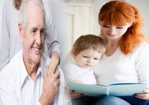 تفاوت های نگهداری از سالمندان و کودکان
