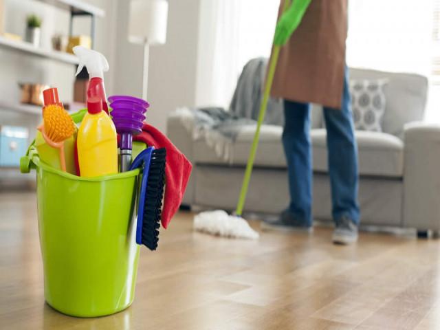 خدمات نظافت منزل و ساختمان