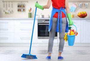 هزینه خدمات نظافت منزل و ساختمان