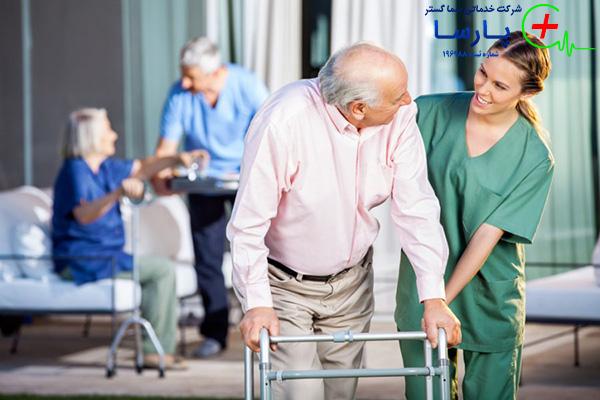 اصول نگهداری سالمند