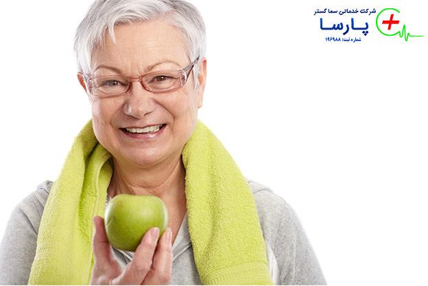 اهمیت تغذیه در پرستاری سالمند