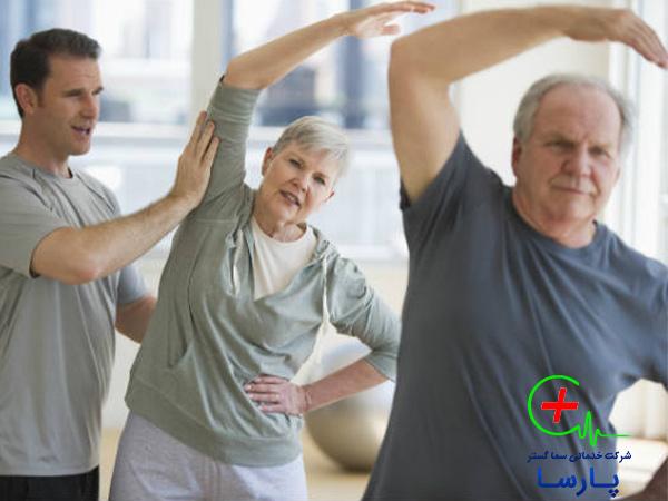 اهمیت ورزش در نگهداری سالمند