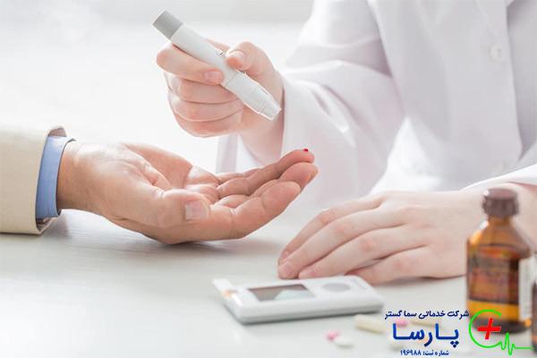 پرستار شبانه روزی سالمند دیابتی