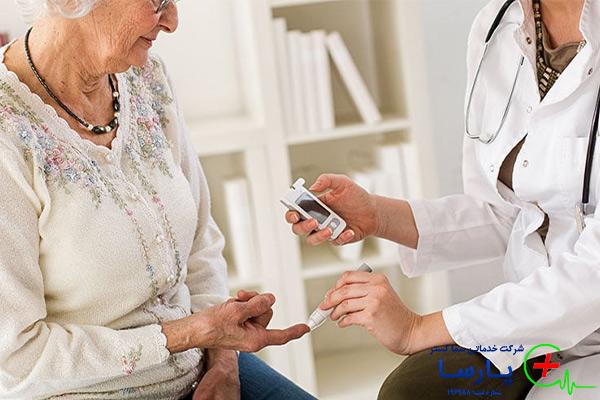 اصول مراقبت از سالمند با بیماری دیابت